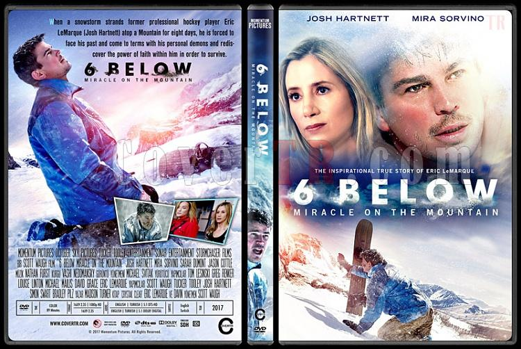 6 Below: Miracle on the Mountain - Custom Dvd Cover - English [2017]-2jpg