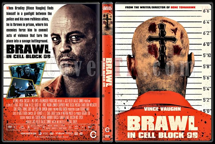 Brawl in Cell Block 99 - Custom Dvd Cover - English [2017]-2jpg