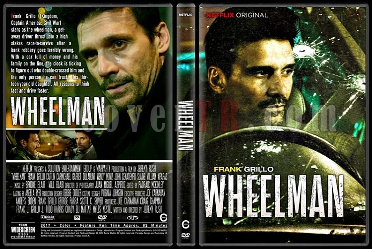 Wheelman (Direksiyondaki Adam) - Custom Dvd Cover - English [2017]-1jpg