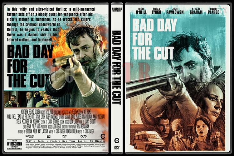 Bad Day for the Cut - Custom Dvd Cover - English [2017]-1jpg
