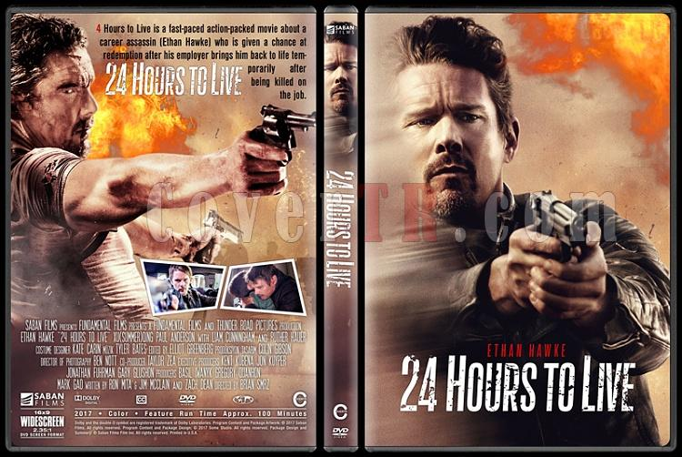 24 Hours to Live (Yarını Yok) - Custom Dvd Cover - English [2017]-1jpg
