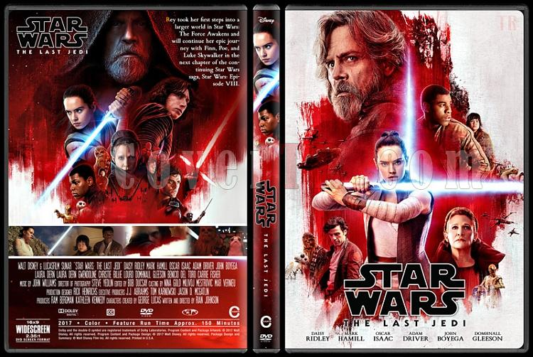 Star Wars: The Last Jedi (Star Wars: Son Jedi) - Custom Dvd Cover - English [2017]-1jpg