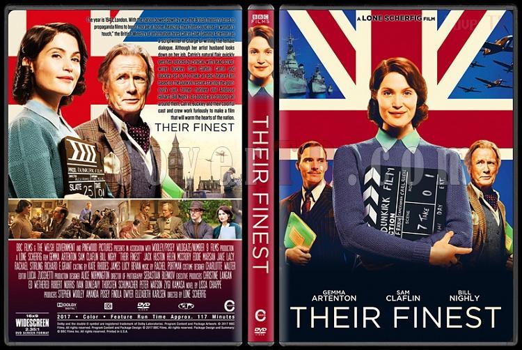 Their Finest (Aşkın Çekimi) - Custom Dvd Cover - English [2016]-2jpg