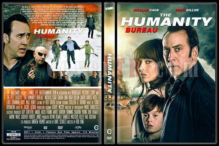 The Humanity Bureau - Custom Dvd Cover - English [2017]-1jpg