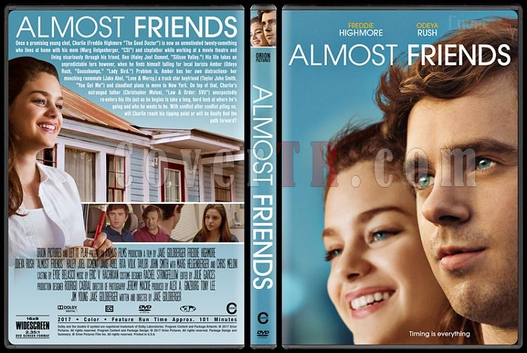 Almost Friends - Custom Dvd Cover - English [2016]-1jpg