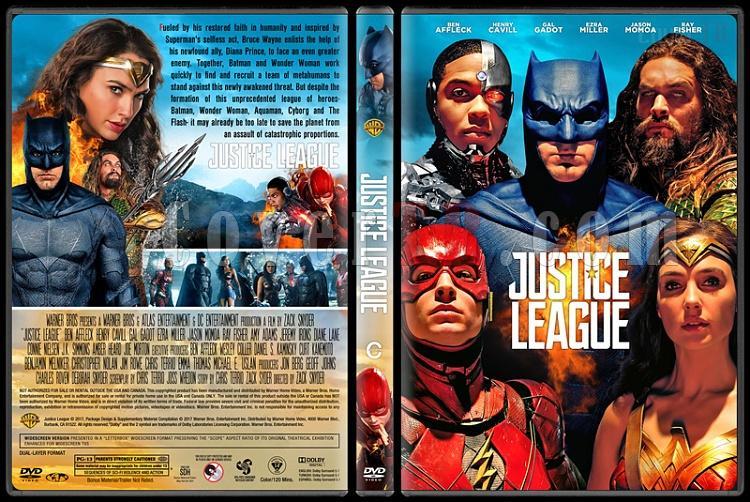 Justice League (Adalet Birliği) - Custom Dvd Cover - English [2017]-1jpg