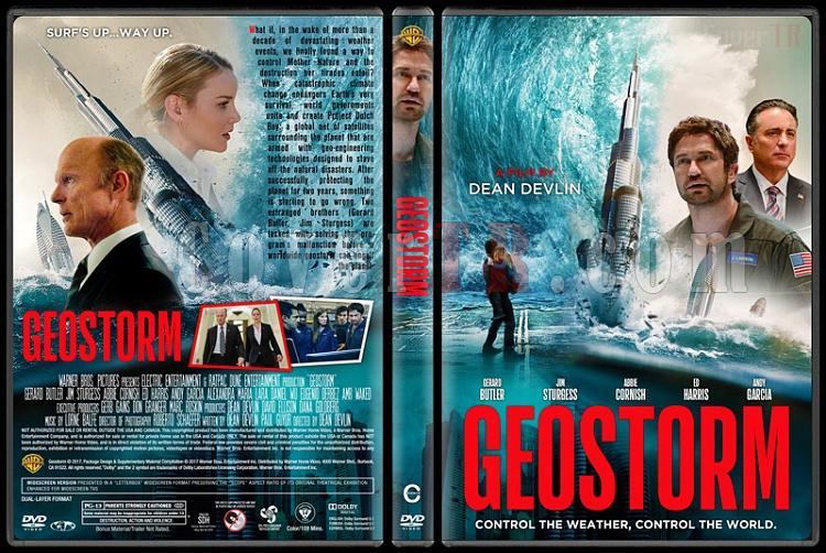 Geostorm (Uzaydan Gelen Fırtına) - Custom Dvd Cover - English [2017]-1jpg