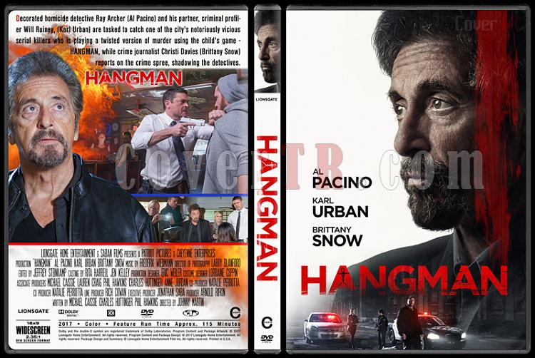 Hangman - Custom Dvd Cover - English [2017]-1jpg