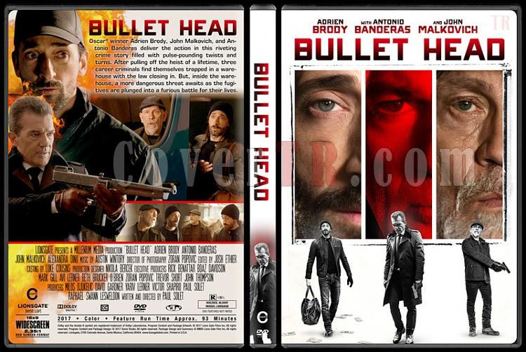 Bullet Head - Custom Dvd Cover - English [2017]-1jpg
