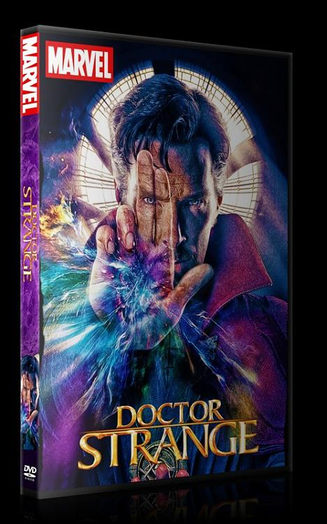 Doctor Strange - Custom Dvd Cover - English [2017]-0jpg
