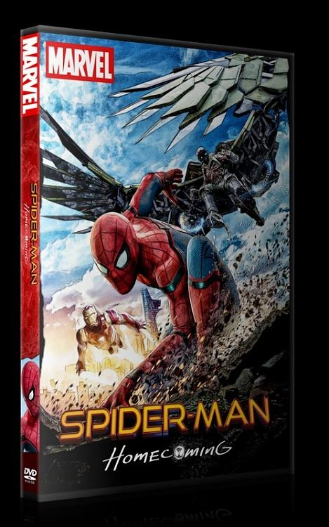 Spider-Man: Homecoming - Custom Dvd Cover - English [2017]-0jpg