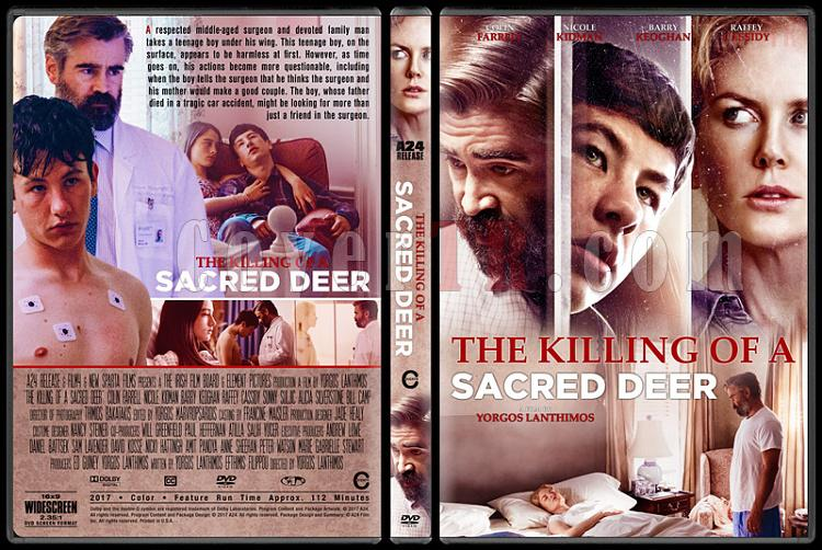 The Killing of a Sacred Deer (Kutsal Geyiğin Ölümü) - Custom Dvd Cover - English [2017]-1jpg