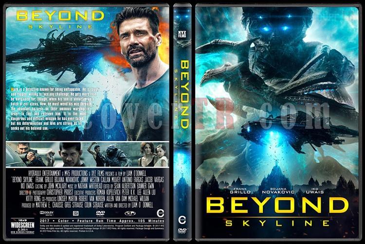 Beyond Skyline (Gökyüzünün Ötesinde) - Custom Dvd Cover - English [2017]-1jpg