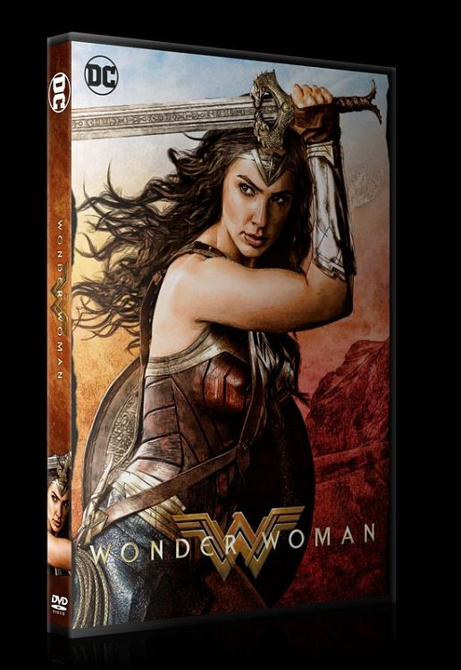 Wonder Woman - Custom Dvd Cover - English [2017]-0jpg