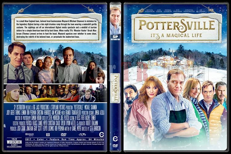 Pottersville - Custom Dvd Cover - English [2017]-1jpg