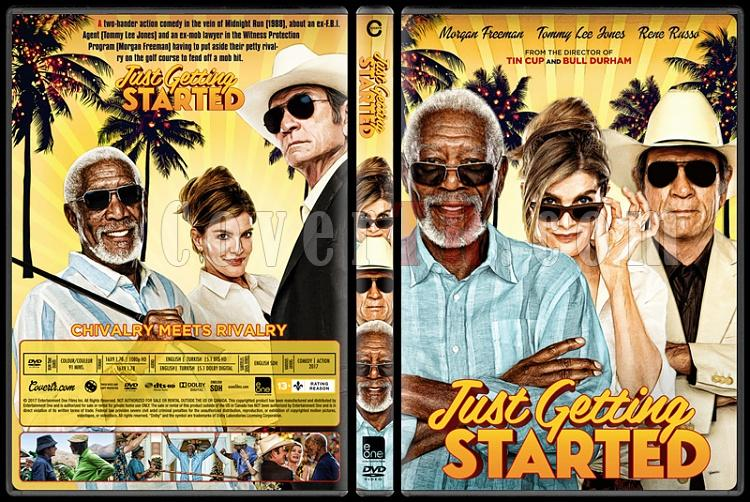 Just Getting Started - Custom Dvd Cover - English [2017]-1jpg