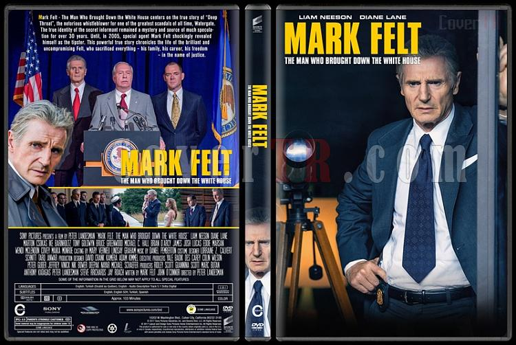 Mark Felt: The Man Who Brought Down the White House (Mark Felt: Beyaz Saray'a Yıkım Getiren Adam) - Custom Dvd Cover - English [2017]-1jpg