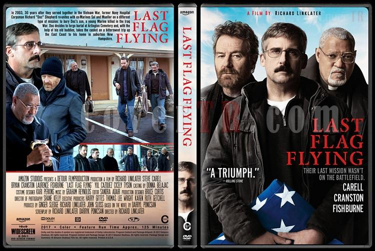 Last Flag Flying (Dalgalanan Son Bayrak) - Custom Dvd Cover - English [2017]-1jpg