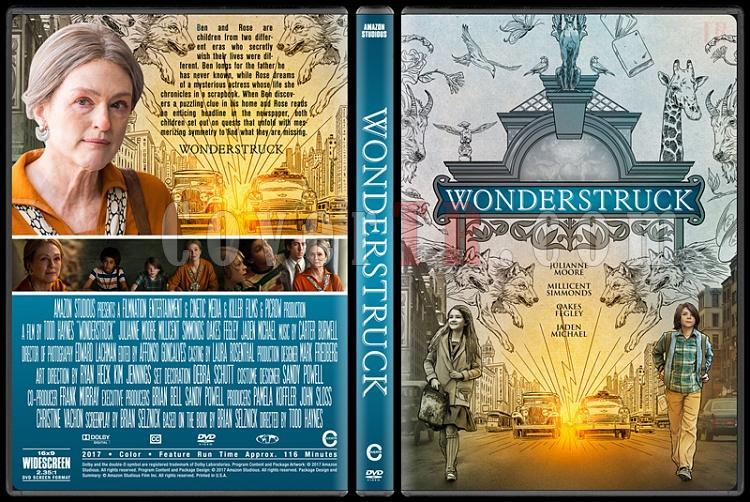 Wonderstruck - Custom Dvd Cover - English [2017]-1jpg