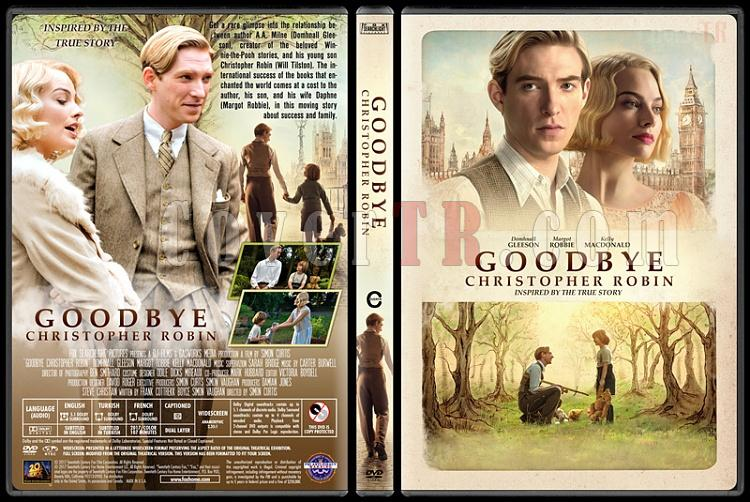 Goodbye Christopher Robin - Custom Dvd Cover - English [2017]-1jpg