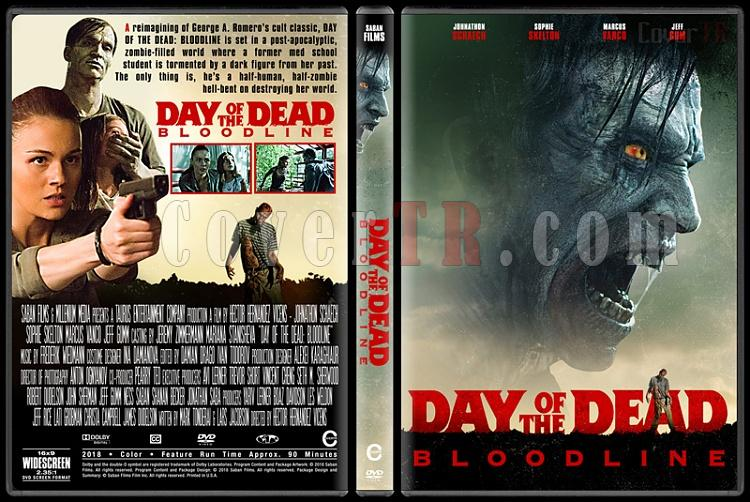 Day of the Dead: Bloodline - Custom Dvd Cover - English [2018]-1jpg