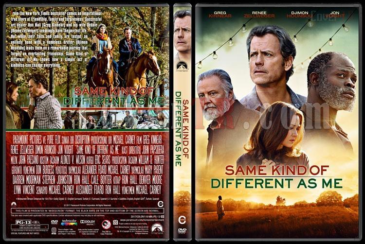 Same Kind of Different as Me (Aslında Sen de Benim Gibisin) - Custom Dvd Cover - English [2017]-1jpg