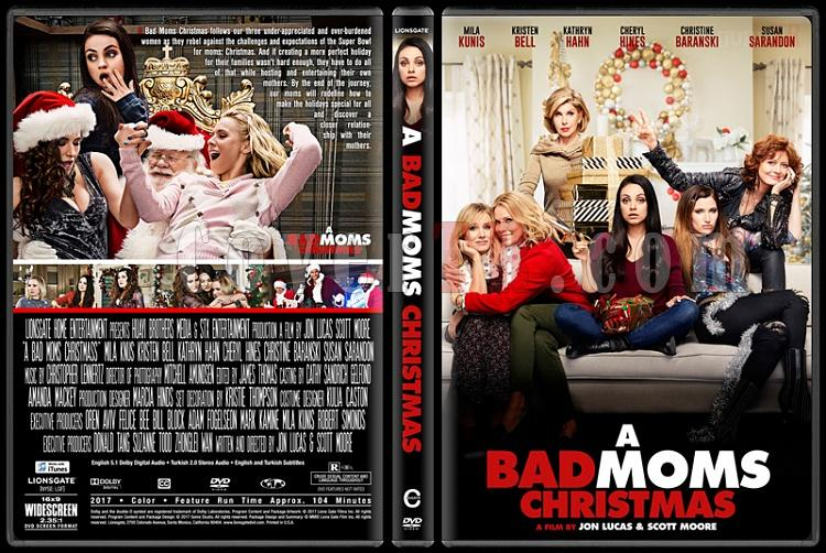 A Bad Moms Christmas Dvd Cover.A Bad Moms Christmas Eyvah Annem Dagitti 2 Custom Dvd