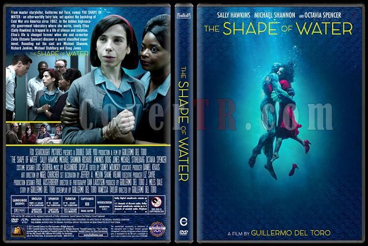 The Shape of Water (Suyun Sesi) - Custom Dvd Cover - English [2017]-2jpg