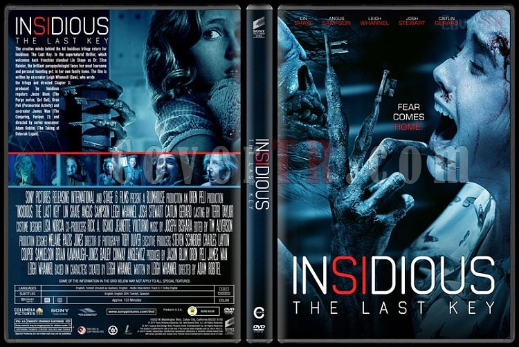 Insidious: The Last Key (Ruhlar Bölgesi: Son Anahtar) - Custom Dvd Cover - English [2017]-1jpg