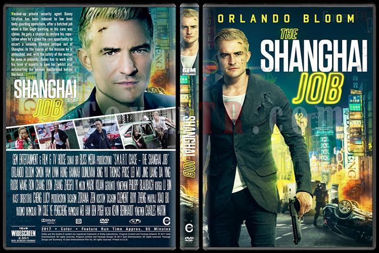 S.M.A.R.T. Chase (The Shanghai Job) - Custom Dvd Cover - English [2016]-1jpg