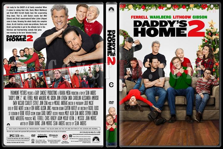 Daddy's Home 2 (Babalar Savaşıyor 2) - Custom Dvd Cover - English [2017]-1jpg