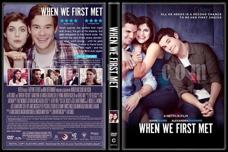When We First Met (İlk Tanıştığımız Gece) - Custom Dvd Cover - English [2018]-1jpg