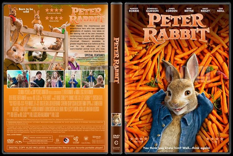 Peter Rabbit (Tavşan Peter) - Custom Dvd Cover - English [2018]-2jpg