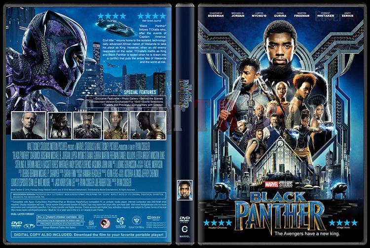 Black Panther - Custom Dvd Cover - English [2018]-1jpg