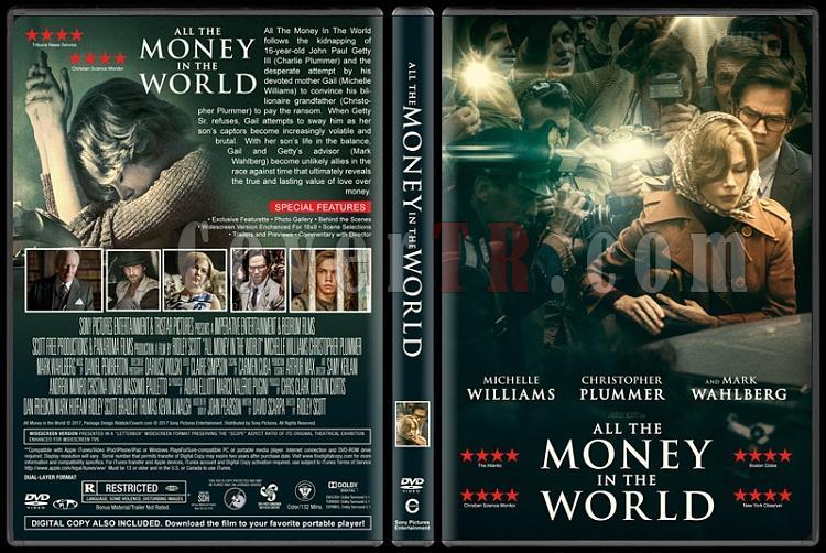 All The Money In The World (Dünyanın Bütün Parası) - Custom Dvd Cover - English [2017]-1jpg