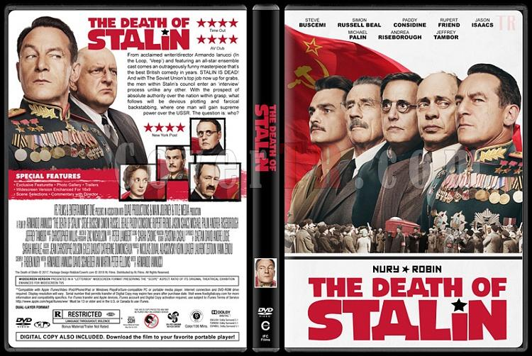 The Death of Stalin (Stalin'in Ölümü) - Custom Dvd Cover - English [2017]-1jpg