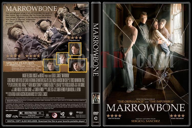 Marrowbone (Karanlık Sır) - Custom Dvd Cover - English [2017]-1jpg