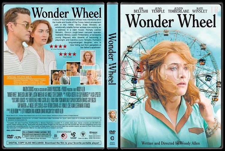 Wonder Wheel (Dönme Dolap) - Custom Dvd Cover - English [2017]-1jpg