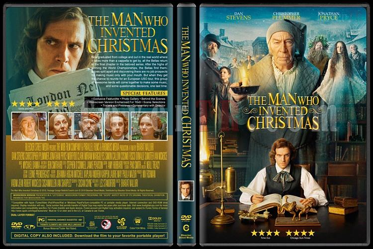 The Man Who Invented Christmas - Custom Dvd Cover - English [2018]-1jpg
