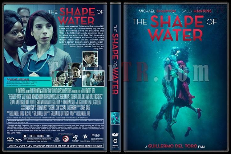 The Shape of Water (Suyun Sesi) - Custom Dvd Cover - English [2017]-1jpg