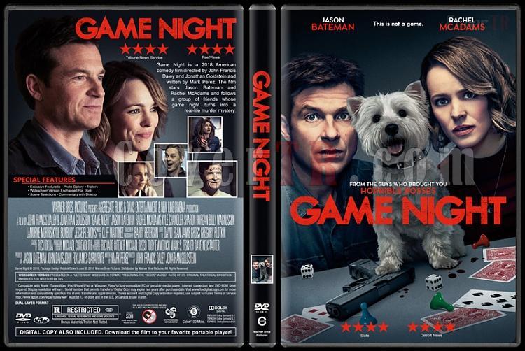 Game Night (Oyun Gecesi) - Custom Dvd Cover - English [2018]-1jpg