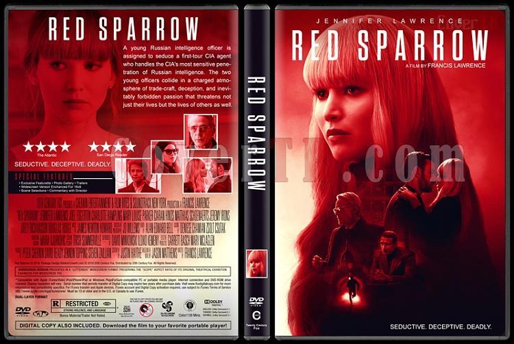Red Sparrow (Kızıl Serçe) - Custom Dvd Cover - English [2018]-1jpg