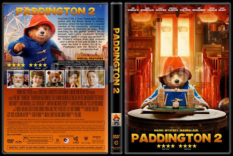 Paddington 2 (Ayı Paddington 2) - Custom Dvd Cover - English [2017]-1jpg