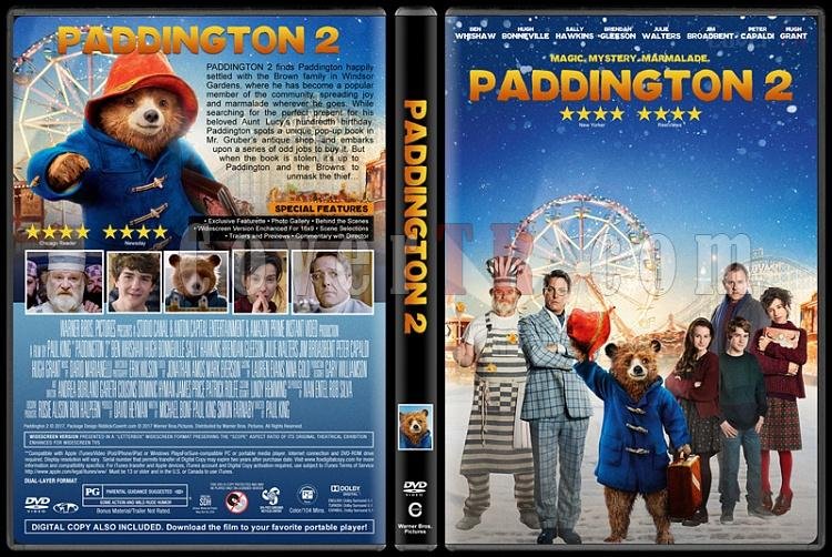 Paddington 2 (Ayı Paddington 2) - Custom Dvd Cover - English [2017]-2jpg