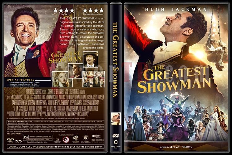 The Greatest Showman (Muhteşem Showman) - Custom Dvd Cover - English [2017]-1jpg