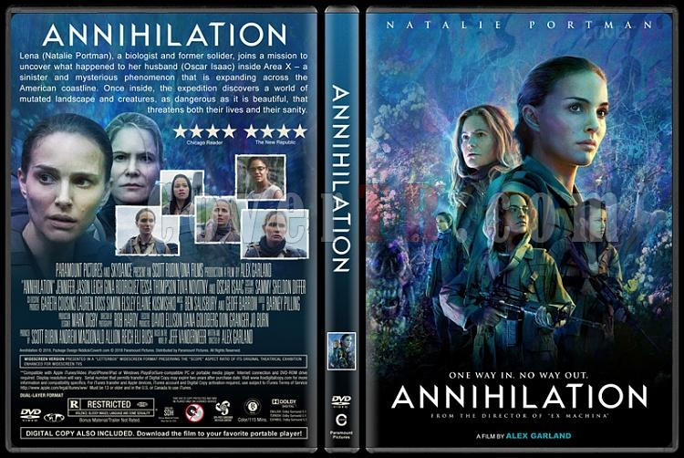 Annihilation (Yok Oluş) - Custom Dvd Cover - English [2018]-2jpg