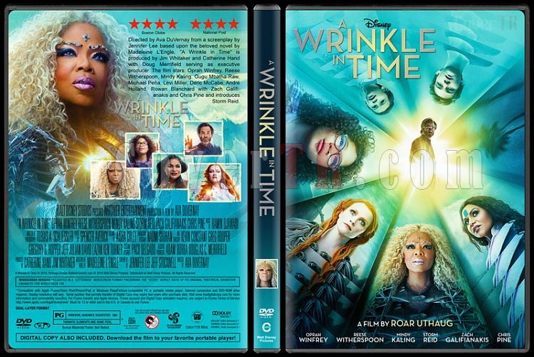 A Wrinkle in Time (Zamanda Kıvrılma) - Custom Dvd Cover - English [2018]-2jpg