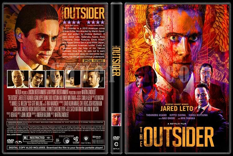 The Outsider (Yabancı) - Custom Dvd Cover - English [2017]-1jpg