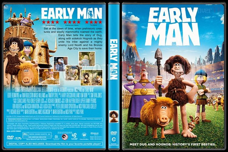 Early Man (Taş Devri Firarda) - Custom Dvd Cover - English [2018]-1jpg