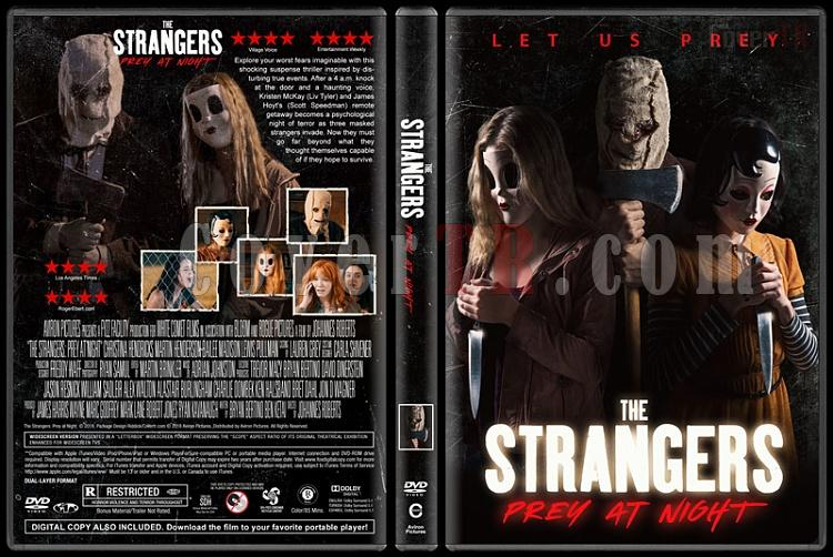 The Strangers: Prey at Night (Ziyaretçiler: Gece Avı) - Custom Dvd Cover - English [2018]-1jpg